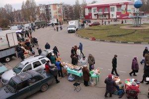 Не было только скоморохов… Осеннюю ярмарку провели в городе Строитель