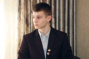 Так зарождается наука в юных умах. Илья Соклаков из города Строитель
