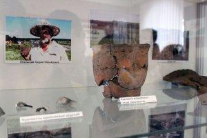 Уникальные находки археологов выставили в ракитянском краеведческом музее