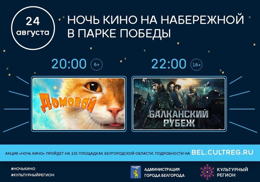 Как в регионе 24 августа пройдёт «Ночь кино»?