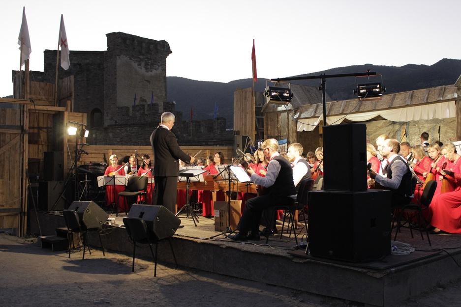 Оркестр русских народных инструментов Белгородской филармонии завершил гастроли в Крыму
