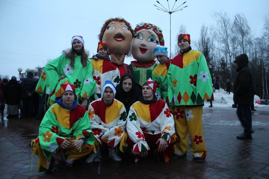 В Яковлевском городском округе прошло народное гуляние «Наступил веселый Старый Новый год!»