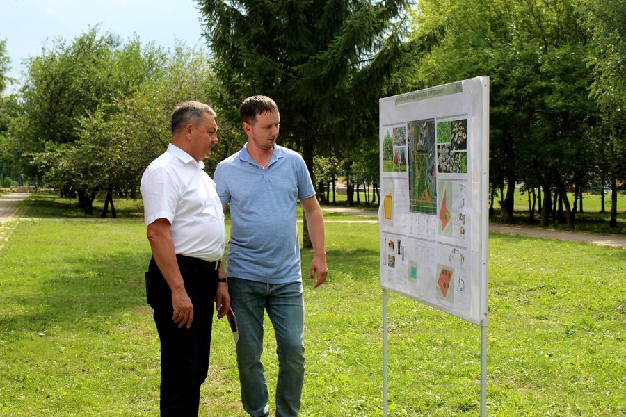 В Сретенском парке прошла встреча